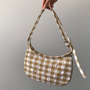 BNWOT ZARA - Plaid Bag
